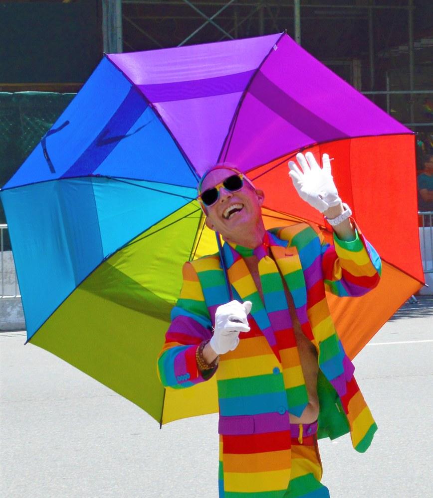 Colori e allegria arcobaleno