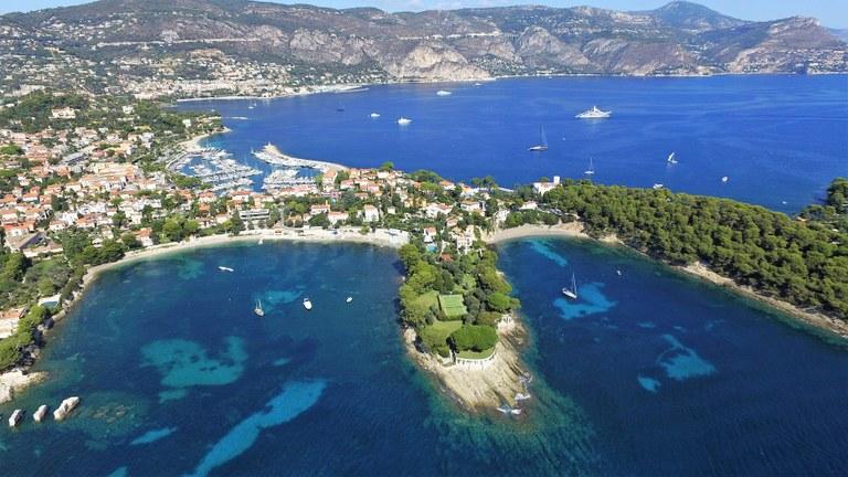 Costa Azzurra, vista aerea © France Coeur Riviera