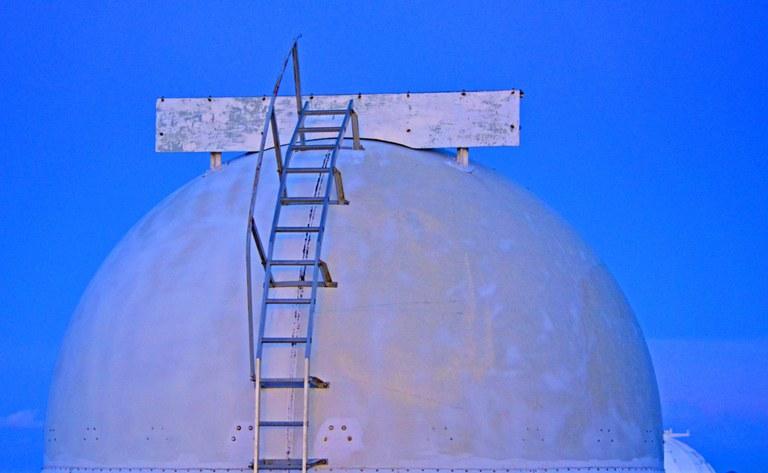 Cupola telescopica per l'osservazione del cielo