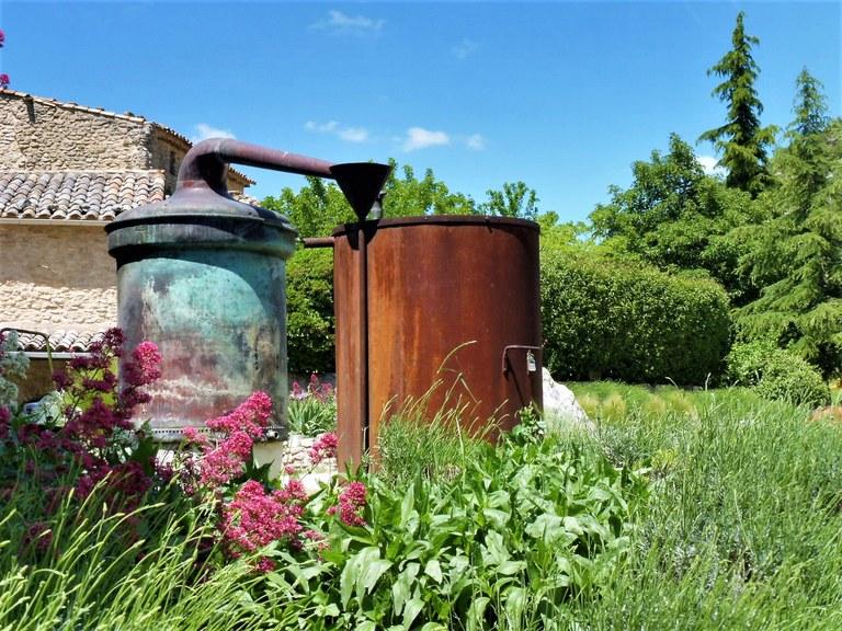 Distilleria Les Agnels - Un antico distillatore