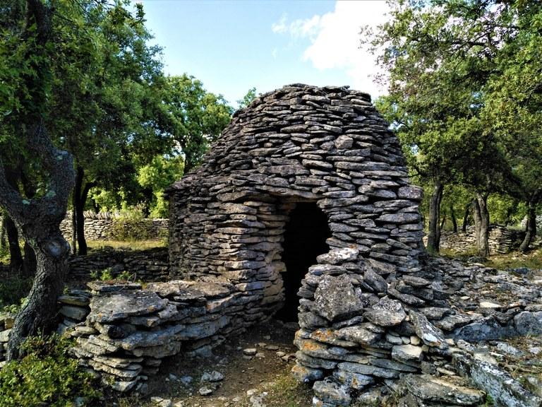 Enclos des Bories, Bonnieux - La porta di una borie