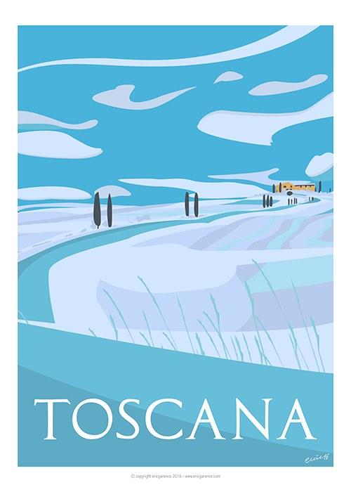 Eric Garence - Toscana, inverno