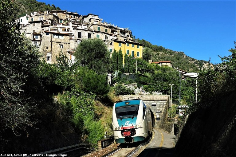 Ferrovia Cuneo-Ventimiglia-Nizza, Airole (IM) © Giorgio Stagni