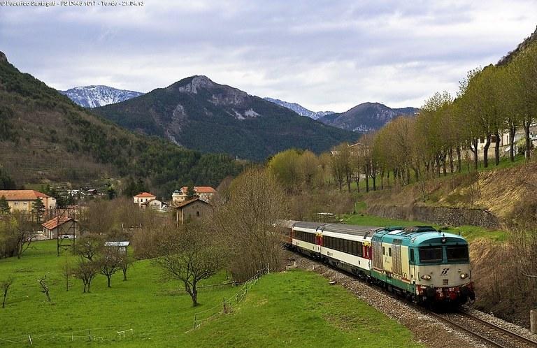 Ferrovia Cuneo-Ventimiglia-Nizza, Tenda © Federico Santagati