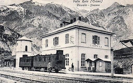 Ferrovia Cuneo-Ventimiglia-Nizza, Vievola, Valle Roia