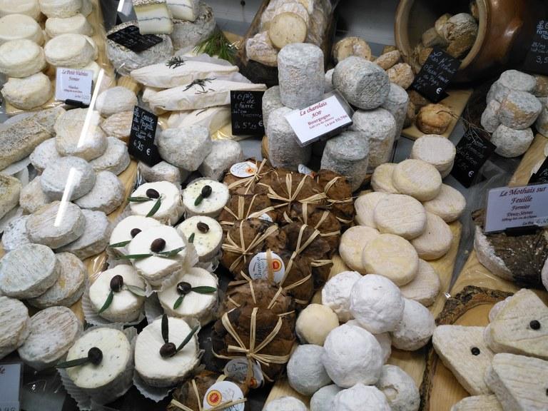 Fromagerie du Comtat - I formaggi di capra e il Banon
