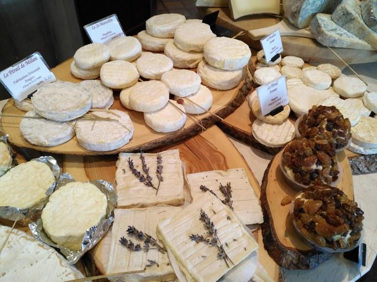 Fromagerie du Comtat - I formaggi di capra