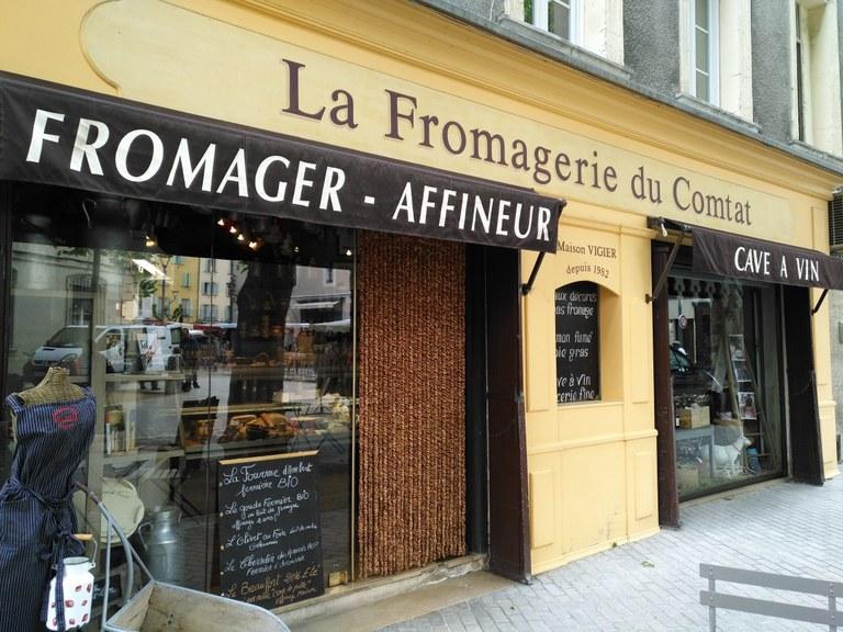 Fromagerie du Comtat - Le vetrine