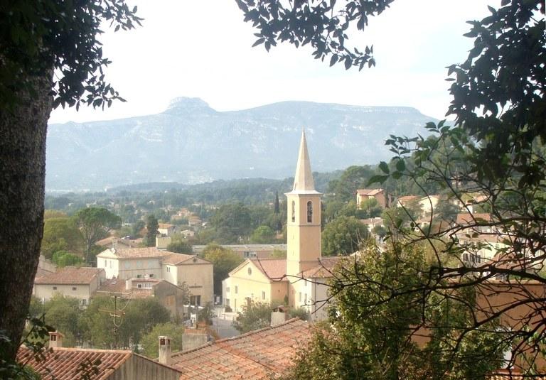 Gémenos, vista del villaggio - Immagine di Fr. Latreille