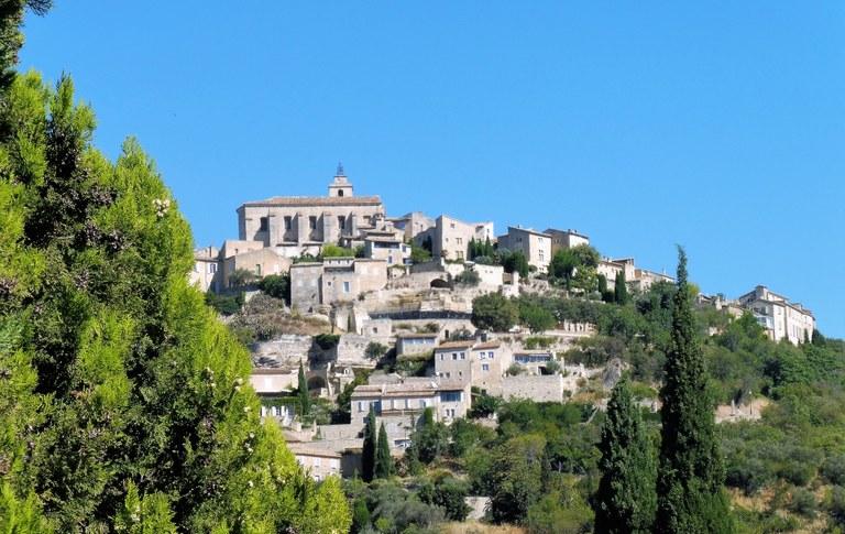 Gordes, il castello e il villaggio