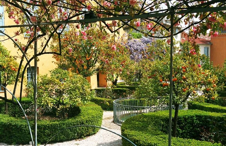 Grasse, giardino © OT Grasse
