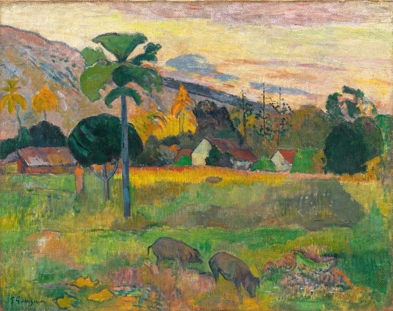Haere Mai, Paul Gauguin, Solomon R. Guggenheim Museum, New York