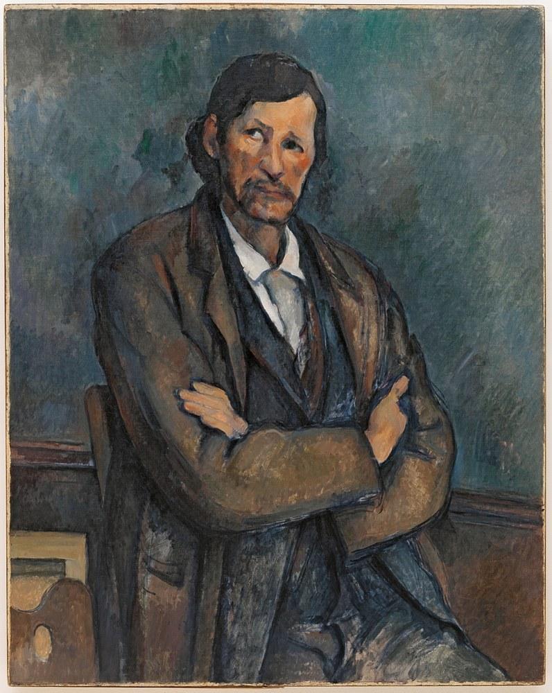 Homme aux bras croisés, Paul Cézanne, Solomon R. Guggenheim Museum, New York