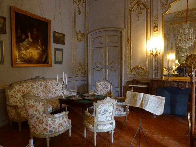 Hôtel de Caumont - La sala da musica