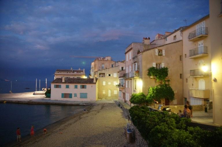 Il fascino notturno di Saint-Tropez © JL Chaix