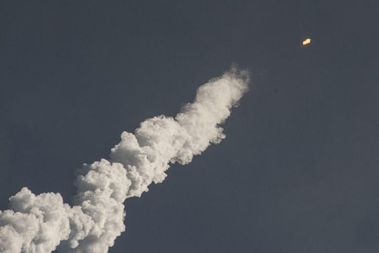 Il lancio di un missile