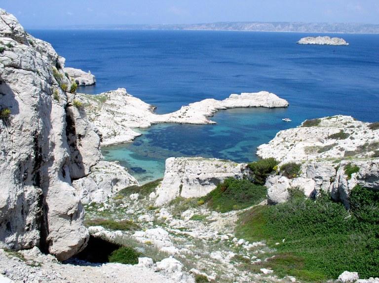 Il mare delle isole del Frioul
