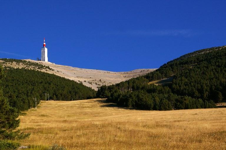 Il Mont Ventoux d'estate