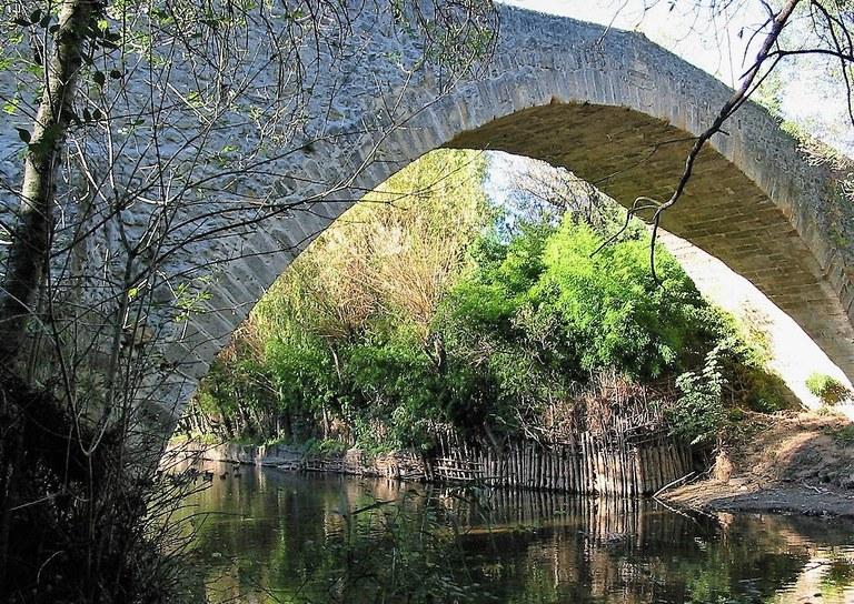 Il Pont des Trois Sautets, tra Aix-en-Provence e Meyreuil