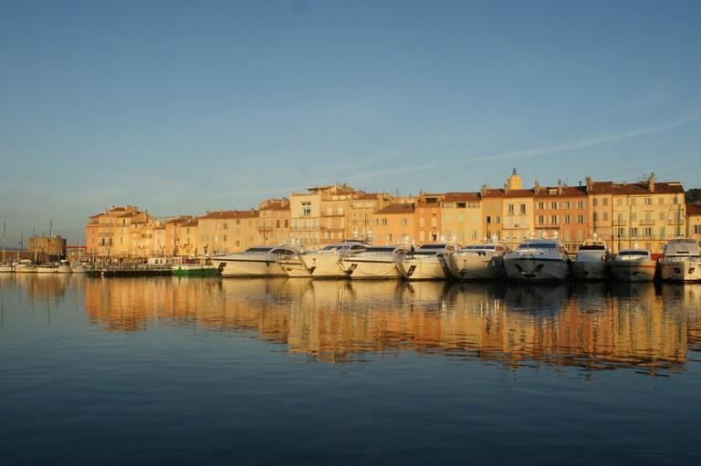 Il porto di Saint-Tropez © JL Chaix