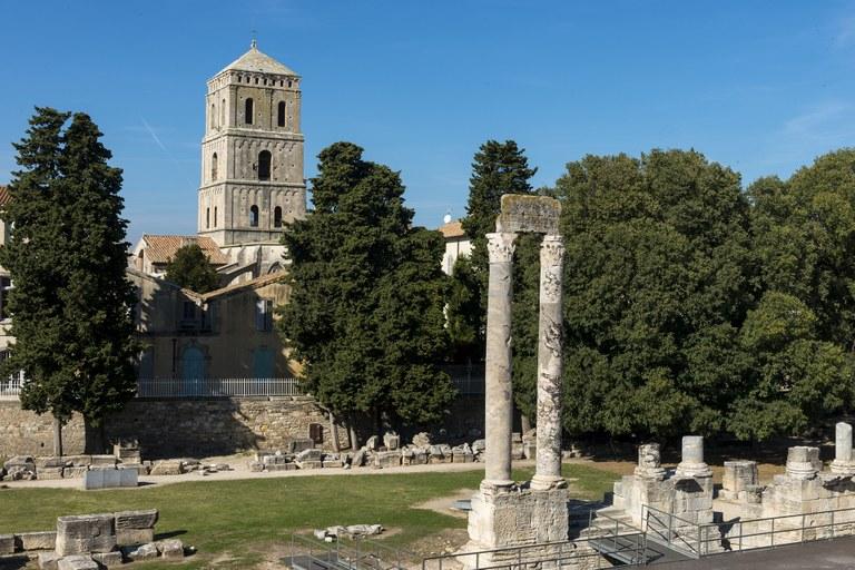 Il teatro antico di Arles © Lionel Roux