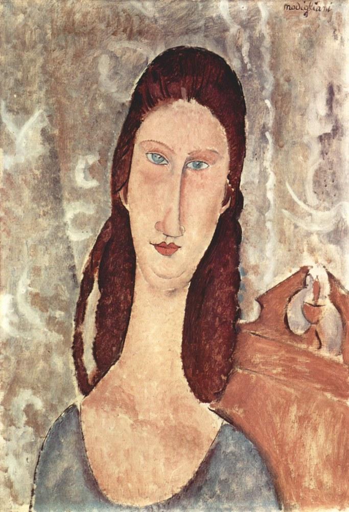 Jeanne Hébuterne ritratta da Amedeo Modigliani 04
