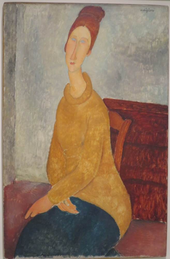 Jeanne Hébuterne ritratta da Amedeo Modigliani 05