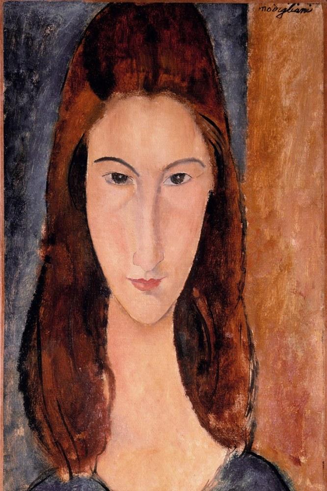 Jeanne Hébuterne ritratta da Amedeo Modigliani 07