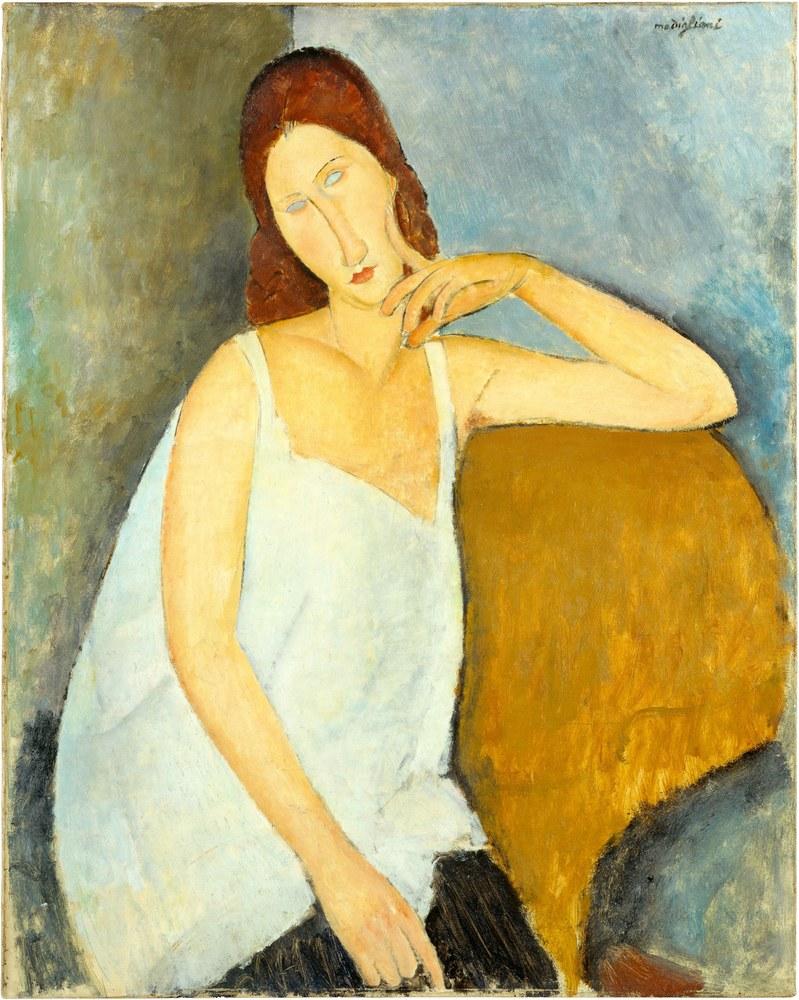 Jeanne Hébuterne ritratta da Amedeo Modigliani, 1919, Metropolitan Museum of Art
