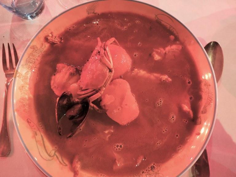 La bouillabaisse di Marsiglia