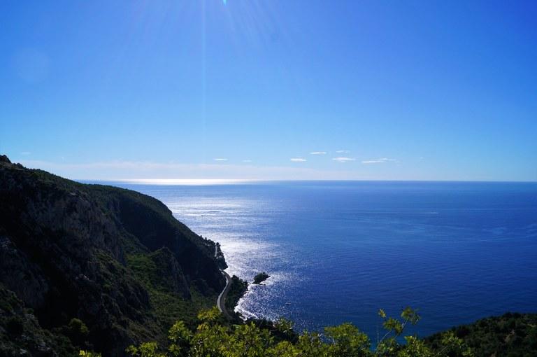 La costa del Mediterraneo in Provenza