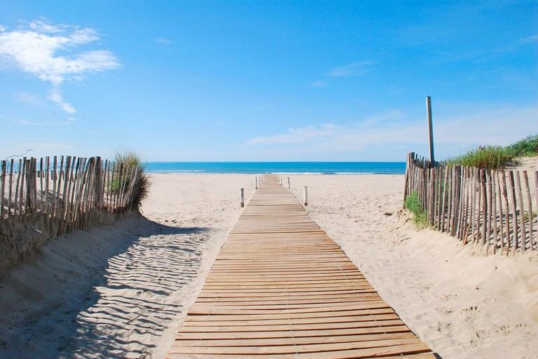 La Grande Motte, spiaggia
