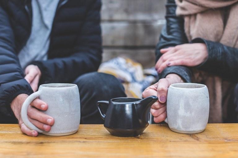 La solidarietà in una tazza di té
