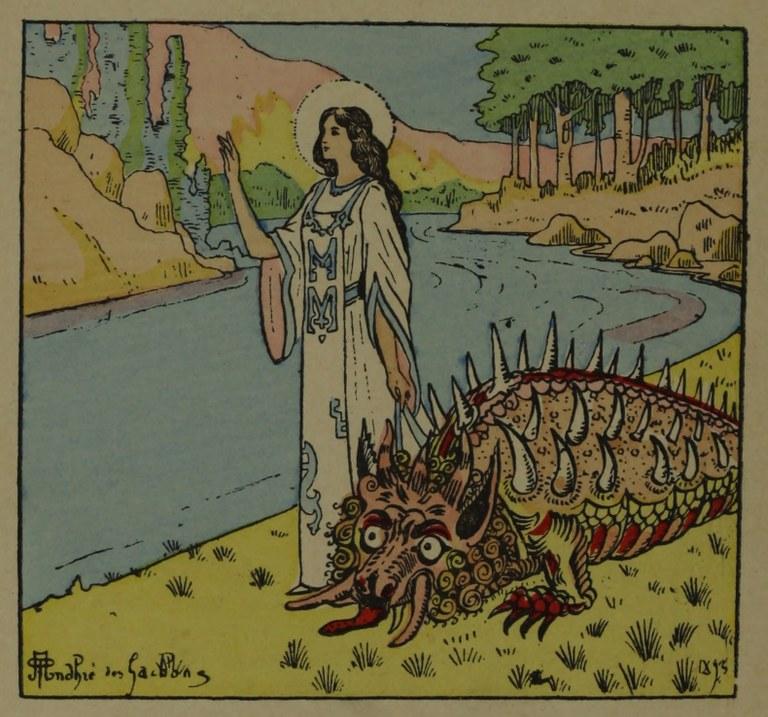 La tarasca illustrata da André des Gachons, 1925