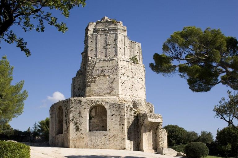 La Tour Magne di Nîmes © C. Recoura