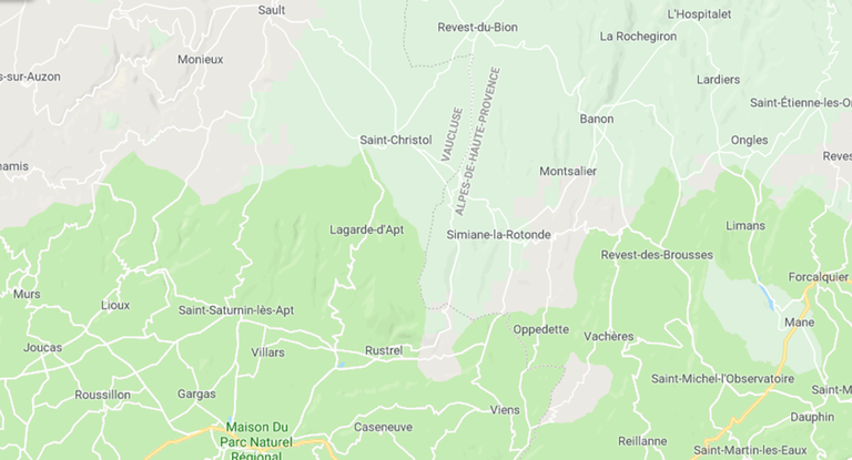 Lagarde d'Apt © Google Maps