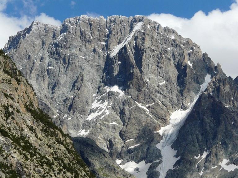 L'Ailefroide, arrampicata in altitudine