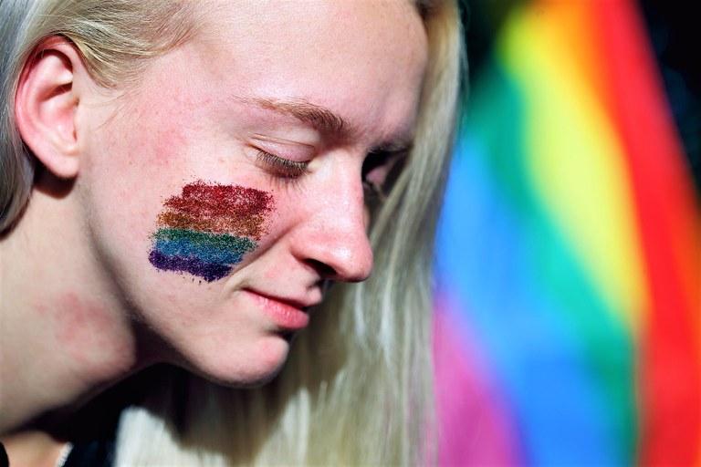 L'arcobaleno sulla pelle