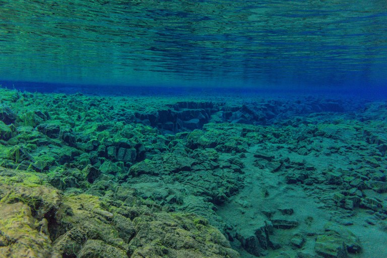 Le acque trasparenti davanti a Hyères
