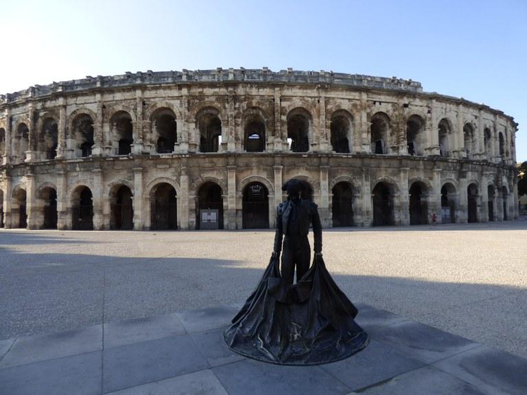 Le Arene di Nîmes, immagine di Pashi da Pixabay
