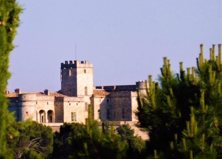 Le Barroux, il castello