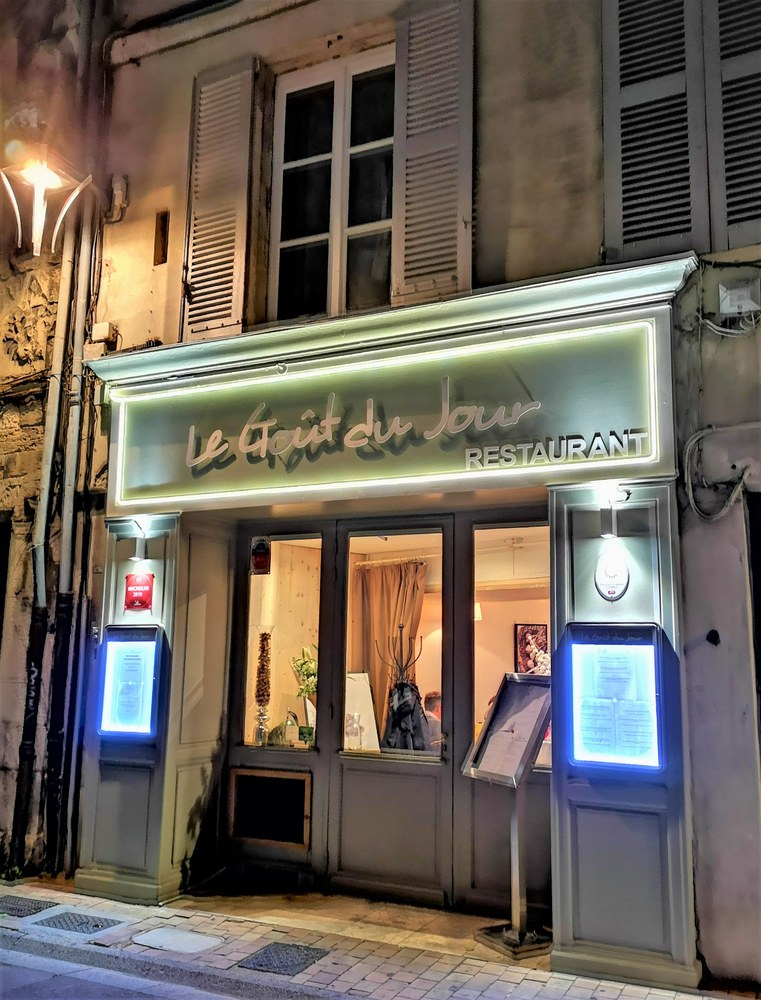 Le Goût du Jour di Avignone, piccolo regno di Julien Chazal