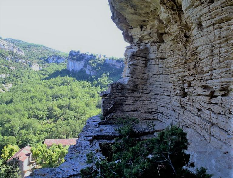 Le rocce di Buoux, abitate già 4000 anni fa