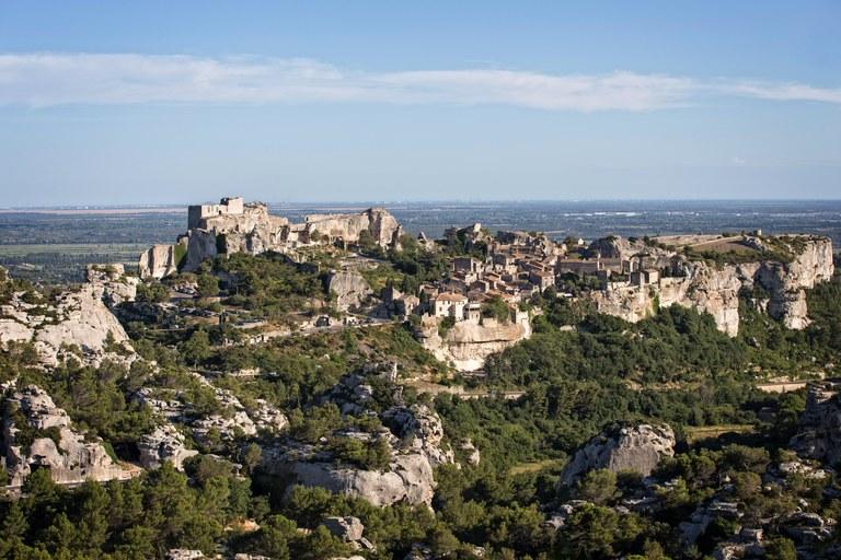 Les Baux de Provence, il villaggio