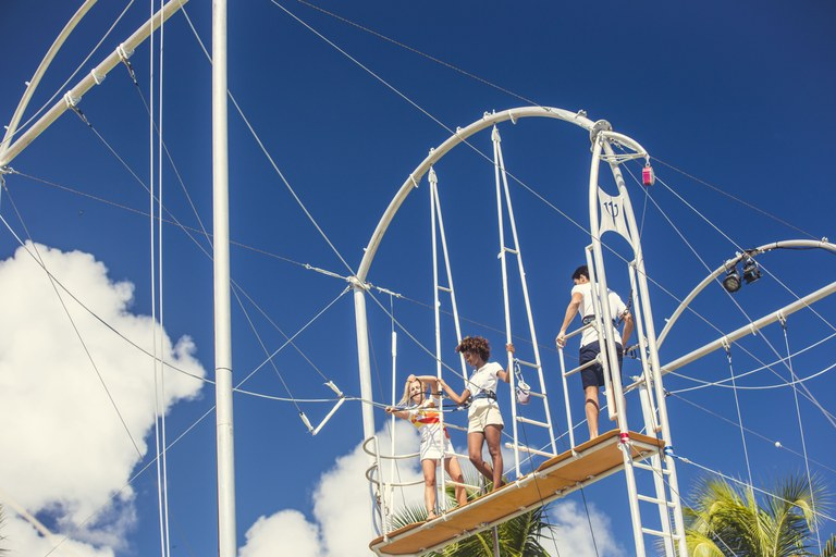 Lezioni di trapezio al Cirque du Soleil © Michel JULIEN