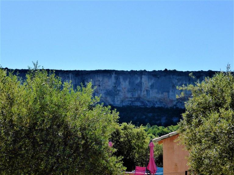 Li Poulidetto - La vista sulla falesia