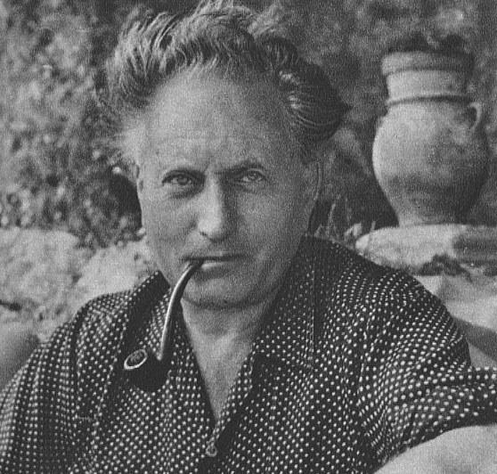 Lo scrittore Jean Giono