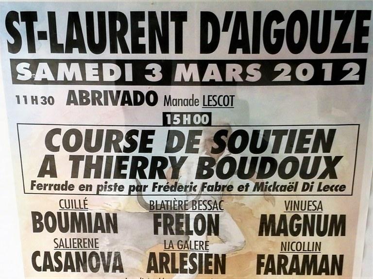 Manifesto della course camarguaise