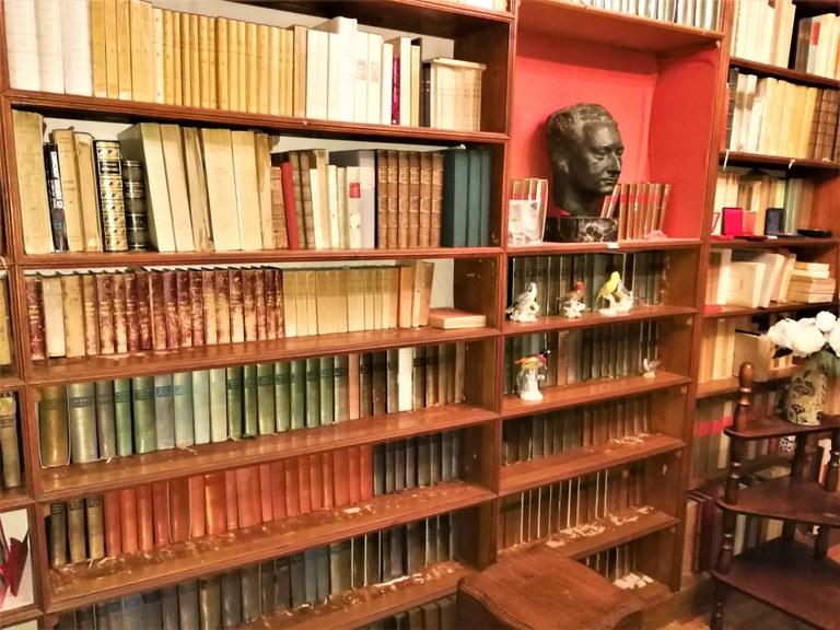 Manosque, Lou Paraïs, biblioteca di Jean Giono
