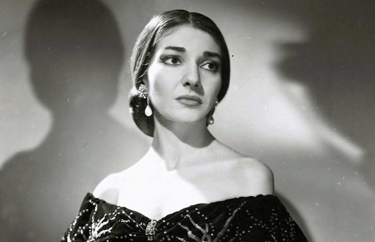 Maria Callas interpreta Violetta ne La Traviata - Foto © Houston Rogers - Wikimedia Commons
